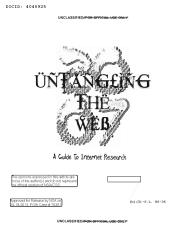 untangling_the_web