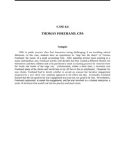 case 4 4 thomas forehand cpa The north texan, volume 43, number 1 deaton, cpa harry h price and sons inc harvey hotel hayes coffey and berry pc joe w forehand jr thomas k fulton.