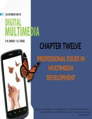 TMU1043_Multimedia_Technology_-_Unit_12_Professional_Issues_in_Multimedia_Development
