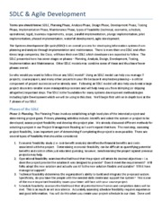 sdlc essay questions For questions about using this template, please contact cms it governance   and iteratively produced during the system development life cycle, based on the   proceed into as many levels/subsections of discussion as needed in order to.