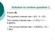 Solutions to final exam review questions