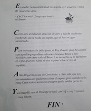 Spanish II la cenicienta worksheet part 2