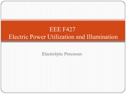 EEE F427 - Lecture 15