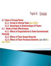 T6 Groups.ppt