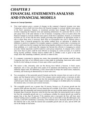 Solutions-  Chapter 3 Financial Statement Analysis and Financial Models (1)