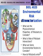BIOL 4020-F2017-Lecture 11-EnviroExposure-posted.pptx
