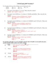 Worksheet 07 Key