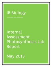 water lab report hl bio ib I-biology is for mrt's ib biology and myp science students  infographic for hl bio,  originally posted on wayfinder learning lab: edit.