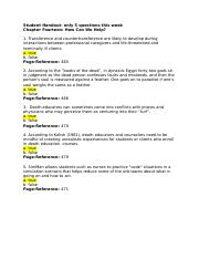 Psy of Death and Dying Quiz ch 14 Student Handout.docx