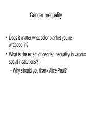 6. Gender Inequality.ppt