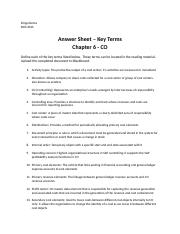 DDema Chapter 6 - Key Terms.docx
