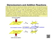 NOTES-Stereoisomers_and_Addition_Reactions