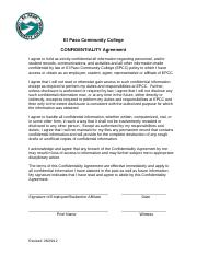 EPCC Confidentiality Agreement ver1.0