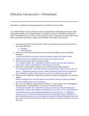 Effective Introduction—Worksheet.pdf