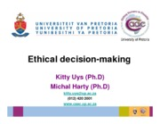 Ethical decision making AAC conf