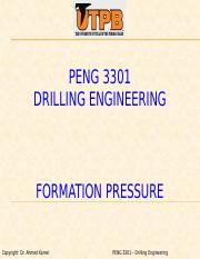 PENG 3301 - Formation Pressure (1).pptx