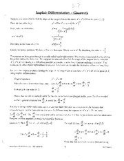 Implicit differentiation worksheet answers Walled Lake Northern High ...