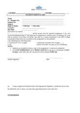 Coventry university coursework cover sheet