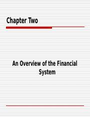 (BBA)2014_CH2 Financial System