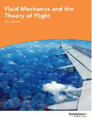 Fluid Mechanics and the Theory of Flight.pdf