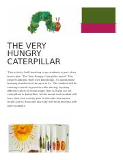 The very hungry caterpillar.docx