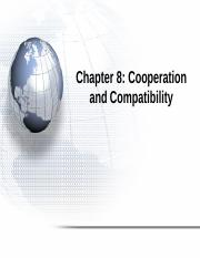 Chapter 8 Cooperation and Compatibility