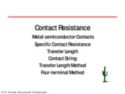 04. Contact Resistance