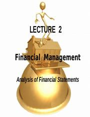 Lecture_2_analysis of financial statement