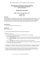 BEA674 Assignment. Guidelines.pdf