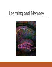Learning and Memory.pptx