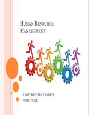 Introduction to HRM for students