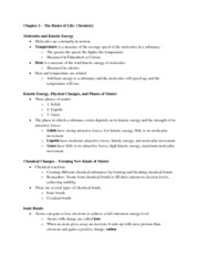 09-15-11 Biology Chapter Two Notes