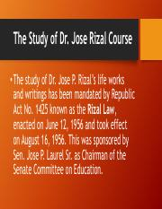 The Study of Rizal Course.pdf