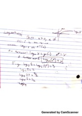 PreCal Logarithms Notes