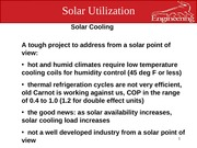 solar utlization lec 15 cooling loads