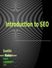 Lect 08-Introduction-to-SEO-2014.pptx