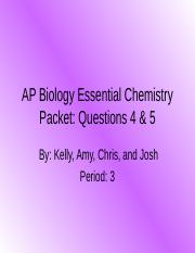 AP Biology Essential Chemistry Packet.ppt