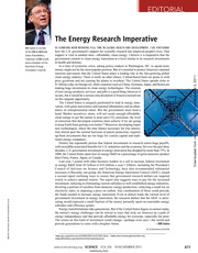 Energy Special Section Science mag