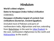 Lecture 5 Slides--Hinduism