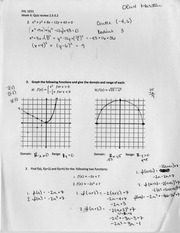 Quadratic Equations Review