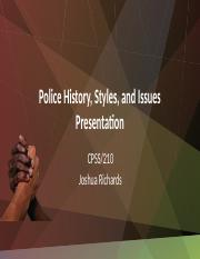 Police History