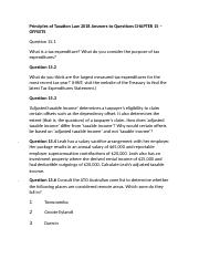 Principles of Taxation Law 2018 Answers to Questions CHAPTER 15 – OFFSETS.docx