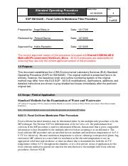08_sop sm 9222d_ fecal coliform membrane filter procedure_