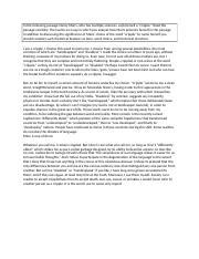 Child development thesis statement