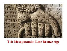 bronze age mesopotamia leadership and the Ancient mesopotamia used bronze to develop one of the most advanced societies what role did bronze play in the development of ancient mesopotamia bronze age.