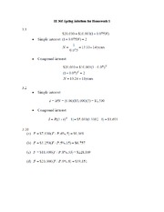 IE 305 Spring Solutions for Homework 1