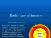 Science 1102 Earth's Crust.ppt