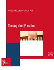 1_Thinking Education