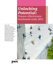 unlocking-potential-finance-effectiveness-benchmark-study-2013