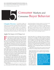 5 CHAPTER Principles of Marketing Textbook